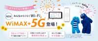 WiMAX2+ みんなのらくらくWi-Fi ワイマックス 2プラス wx06 料金プラン